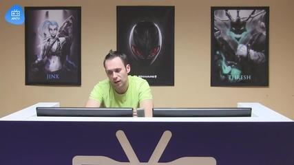 Alienware LoL 1vs1 - 1/2 Финал #1 SaMaRoV vs Sinio Govedo