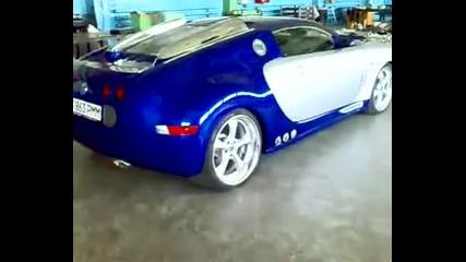 Най - бързата кола в света - Bugatti Supersport - 1300 конски сили!!!