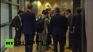 Belgium: Juncker meets Tsipras on side-lines of Brussels refugee summit