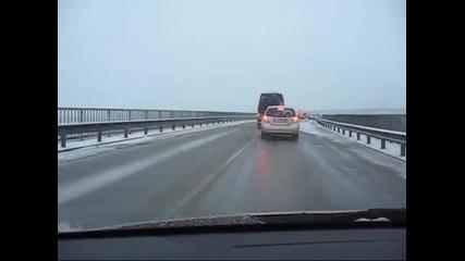 Сняг и катастрофи на Околовръстното