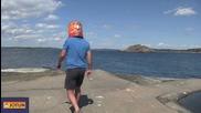 Норвежеца с туба на глава