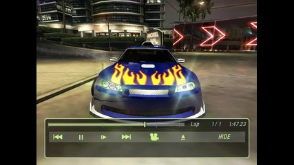 Cool drive in Nfsu2+cool Dubstep !!!