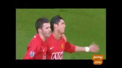 Cristiano Ronaldo All 42 Goals Season 07/08