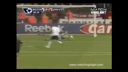 27.03 Болтън - Манчестер Юнайтед 2та Гола На Митко Бербатов