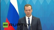Philippines: Medvedev discusses closing air-routes in the wake of Egypt attack