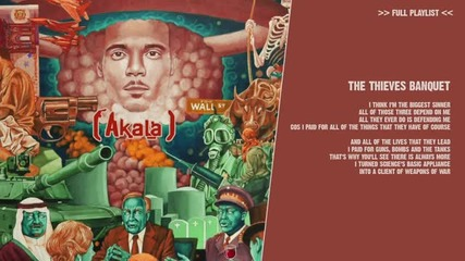 Akala - The Thieves Banquet ( english lyric)