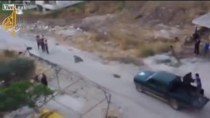 Правителствени сили на Асад атакуват Ислямска държава!