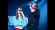 Garou & Celine Dion ~ Sous le vent (live Bercy)