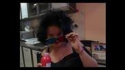 Мерилин Монро с черна коса :д