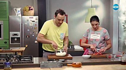 Десерт с кисело мляко и ягоди - Бон Апети (15.05.2018)