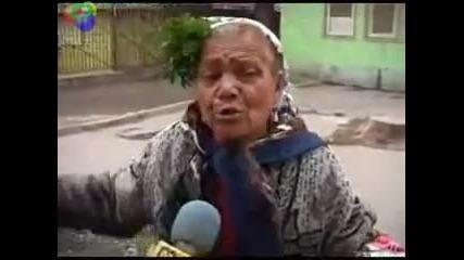 Луда баба изцепи ромски бисери Vbox7