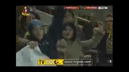 11.02 Португалия - Финландия 1:0 Кристиано Роналдо Гол