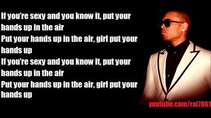 Chris Brown - Turn Up The Music (lyrics)
