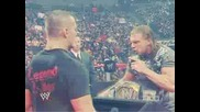 Wwe Raw 52608 Triple H Amp Randy Orton Face To Face