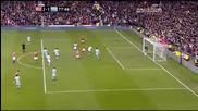 Страхотен гол на Рууни със задна ножица Юнайтед 2:1 Сити