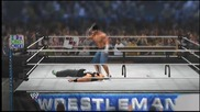 Wwe 2k14 Ps3 Gameplay Част 2 Table Match 1 vs 1