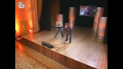 Music Idol - Иван и Андрей травестити! Не е за изпускане