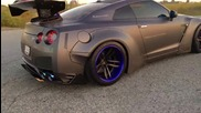 Beasty Gt-r R35 : Armytrix Performance Exhaust and Liberty Walk body kits