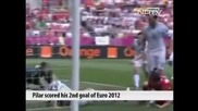 Петърж Ирачек отбеляза четвъртият най - бърз гол на Европейско първенство