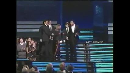 Превод - 31.01.2010, 52 награди грами - речта на децата на Майкъл Джексън!