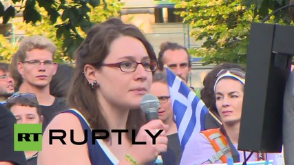Germany: Oxi means Oxi! Berlin protesters decry 'financial blackmail' of Greece