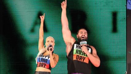 Русев и Лана обещават победа на SummerSlam: Разбиване 14.8.2018