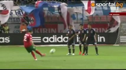 Българи юнаци ! Япония 0:2 България