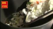 Home Cusine - Пълнени калмари с ориз и домати - 11.04.2012