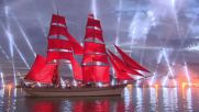 Russia: St. Petersburg's Scarlet Sails 50th anniversary wows WC2018 fans