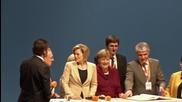 Germany: Merkel leads CDU rally ahead of regional elections
