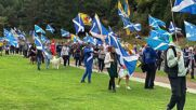 UK: Thousands join pro-independence march in Edinburgh