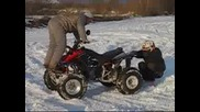 Atv Snow Drifting