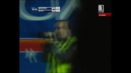 Цска елиминира Динамо (1 - во полувреме)