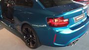 2017 Bmw M2 Coup 370hp - Cold Start Sound 60fps