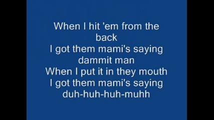 Pitbull - Dammit Man + lyrics