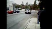 Bugatti Veyron Accelerating