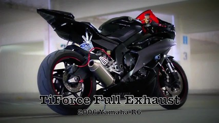 Yamaha R6 с цяла генерация Tiforce