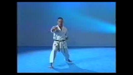 Карате Шотокан Ката Gankaku