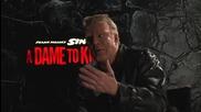 Звездата Мики Рурк дава интервю за филма си Град на Греха 2: Жена, за която да убиеш (2014)