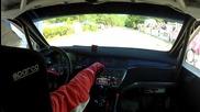 Видео от автомобила на Илия Царски - рали Шипка 2012