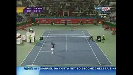 Top 10 От Най - Добрите Точки На Федерер