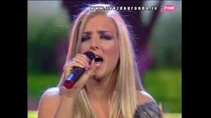 Zvezde Granda 2011 - Bojana Sarovic - Gore od ljubavi (svetlana Ceca Raznatov