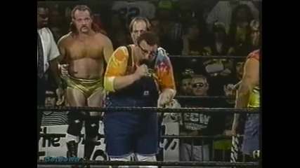 Buh Buh Ray Dudley w/ Dudley Family vs. Jimmy del Ray - Ecw House Party 1996