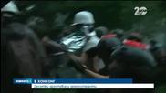 Арести и ранени след поредния протест в Хонконг