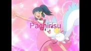 Dawn and Pachirisu