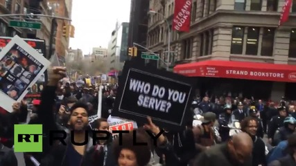 USA: Ferguson reignites? #A14 protesters shut down NYC
