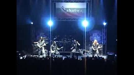 Sabaton на живо в София 17.10.2009