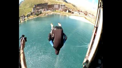 Скок от хеликоптер през ваканцията