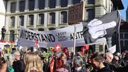 Switzerland: Hundreds protest against COVID measures in Bern