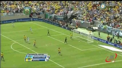 Аржентина - Бразилия 4-3